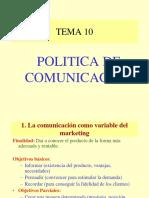 Politica de Comunicación i y II