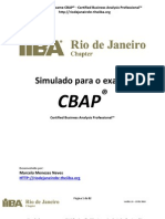 CBAP Free Questions