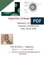 Herpes Virus 1 & Herpes Virus 2 (2)