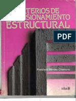 Criterios de Dimensionamiento Estructural