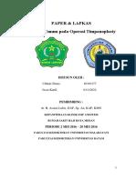 Paper & Lapkas Anastesi o.p Omsk Syip