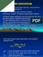 2 - Semivariogram