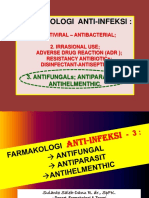 Farmakologi Anti-Infeksi- 3 Antifungal - Antiparasit