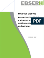Reconstituição Diluição e Administração de Medicamentos Endovenosos