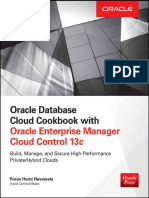 Oracle Database Cloud Cookbook With Oracle Enterprise Manager 13c Cloud Control