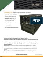Hedgehog Ups; 700w 28v Acdc Military Ups & Power Supply