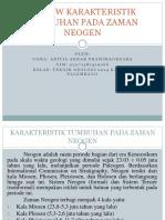 Review Karakteristik Tumbuhan Pada Zaman Neogen