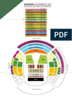Plano y precios para el show de Roger Waters