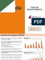 [Movida]Tese de Investimento