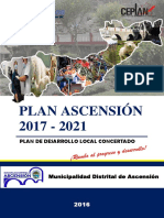 Plan de Desarrollo Local Concertado 2017-2021