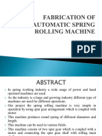 Automatic Spring Rolling Machine