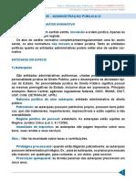 Aula 09 - Administração Pública IX - Legislar x Atos de Caratér Normativo, Entidades.pdf