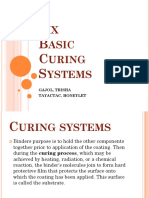 Six Basic Curing Systems