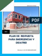Plan de Respuesta Patra Emergencias y Desastres Crucero