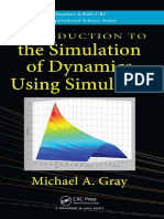 (Chapman & Hall_CRC Computational Science) Michael a. Gray-Introduction to the Simulation of Dynamics Using Simulink-Chapman and Hall_CRC (2010)
