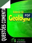 Bateria de provas de Geologia
