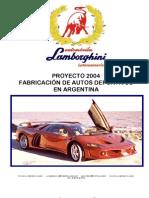2 INTRODUCCION  FABRICACION LAMBORGHINI COATL 8H