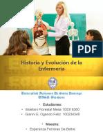 Historia y Evolucion de La Enfermeria, Estefani