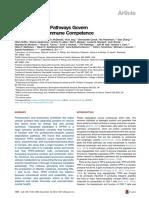 Dual Proteolytic Pathways