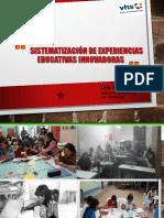 Sistematización de Exp. Educativas