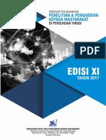 Buku Panduan Pelaksanaan Penelitian dan Pengabdian Kepada Masyarakat Edisi XI Tahun 2017.pdf