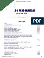 Augusto Vels - Dibujo y Personalidad