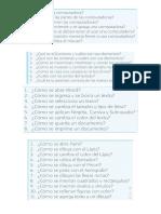 Contesta en Tu Cuaderno El Siguiente Cuestionario