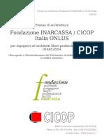 Premio Di Architettura Fondazione INARCASSA _ CICOP Italia ONLUS