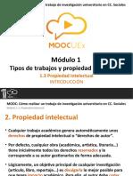 1.3. Propiedad Intelectual - Introducción