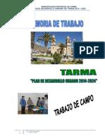 4 Memoria Trabajo de Campo Tarma