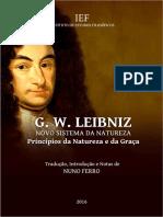 NOVO SISTEMA DA NATUREZA E DA COMUNICAÇÃO DAS SUBSTÂNCIAS - Leibniz
