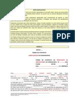 Contrato Para Obras e Servicos de Engenharia - Modelo