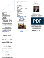 2018 PSRANM Conference Registration