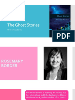 the ghost stories by rosemary border - prim