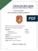 Trbajo Monografico de Gestion Ambiental de Empresas Agroindustriales