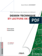 Dessin Technique Et Lecture de Plan Principes Exercices S Rie Technique Des Dessins Du b Timent