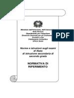 Normativa Esami Di Stato2009 2010