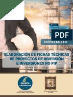 (Inicio 3 de Febrero) - Fichas Técnicas de Proyectos de Inversión e Inversiones NO PIP