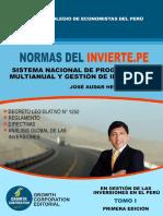 Contenidos Libro Normas Del Invierte.pe 3