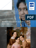 Presentation for Modern Education Systems