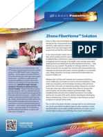Zhone Fiberhome Solution