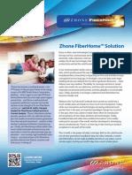 Zhone Fiberhome Solution