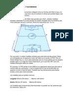Cancha de Fútbol y Sus Medidas