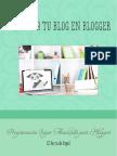 Manual Programa Tu Blog en Blogger