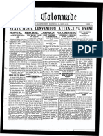 The Colonnade - March 30, 1927