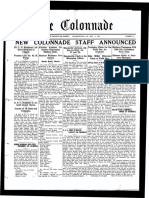 The Colonnade - May 4, 1927