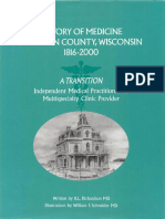 History of Medicine in Brown County Wisconsin 1816 2000
