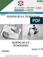 Escritas de Si e Tecnologias-1