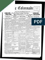 The Colonnade - November 12, 1928