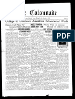 The Colonnade - November 5, 1929